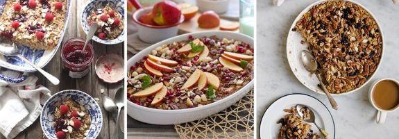 Diétás sült zabpehely almával - Egészséges reggelik