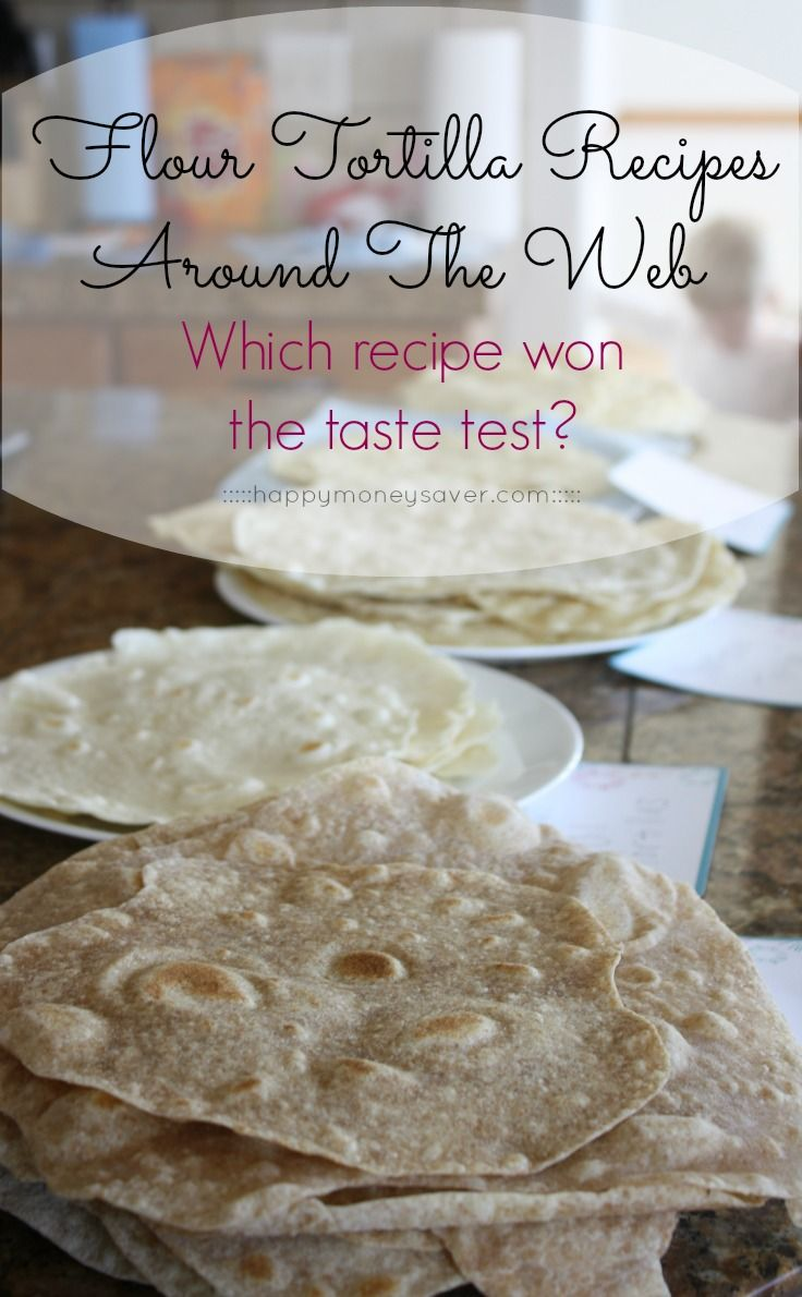 how to make homemade flour tortillas with butter