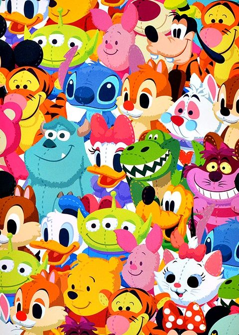 That Disney-Is-About-To-Open Smile - animated character art
