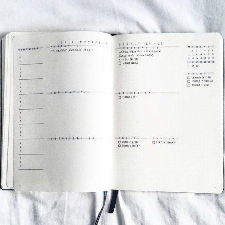 622 best je cr e un bullet journal images on pinterest for Minimal art journal