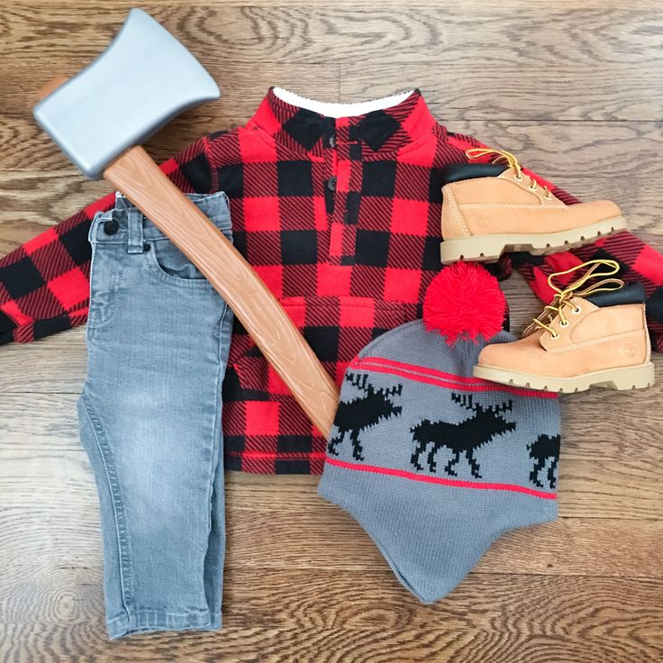 Lumberjack Outfit for Little Boy
