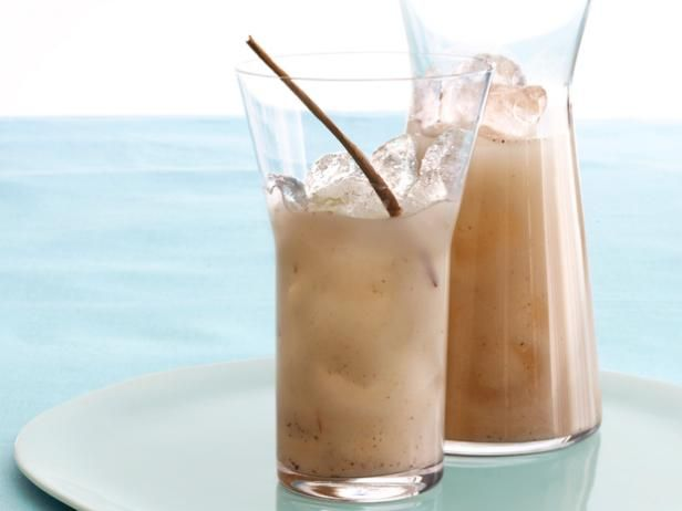 Horchata from #FNMagFood Network, Horchata Recipe, Homemade Horchata, Cinnamon Sticks, Ground Cinnamon, Sweet Recipes, White Rice, Aaron Sanchez, Aarón Sánchez