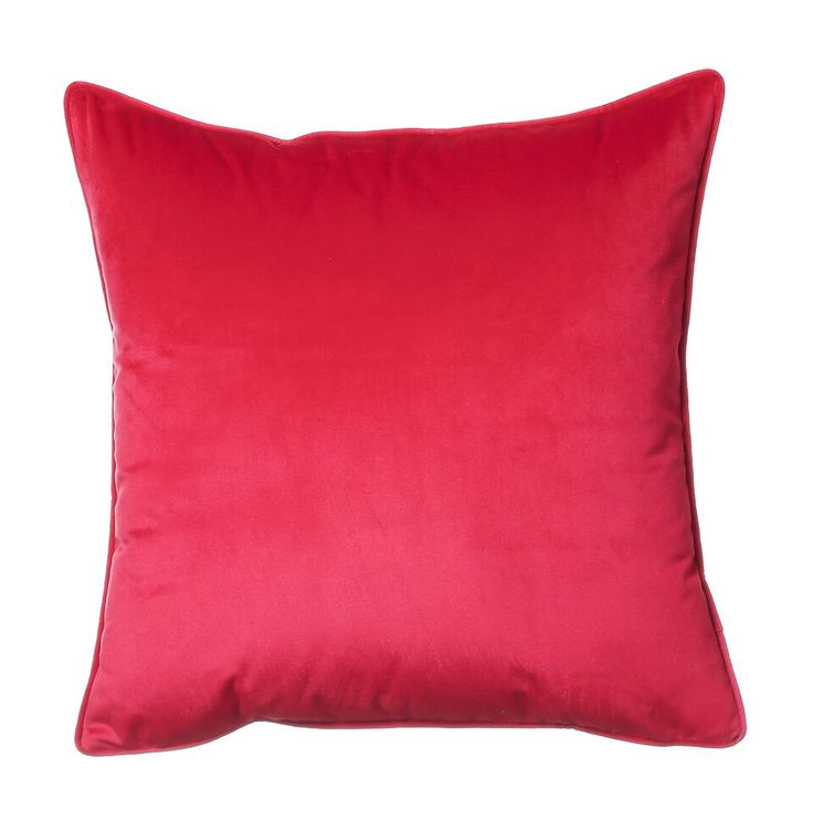 Hudson Velour Red Cushion €23