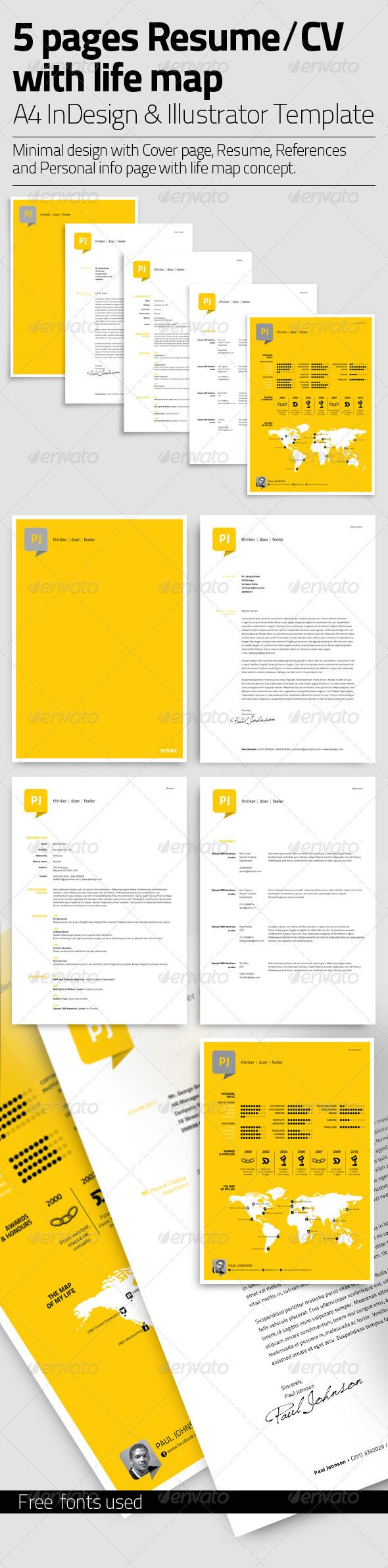 Fine Sewon Clean Resume Template Free Pictures Inspiration - Entry ...