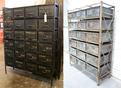 Storage Bins From Christopher Bailey Of Industrial Chic.
