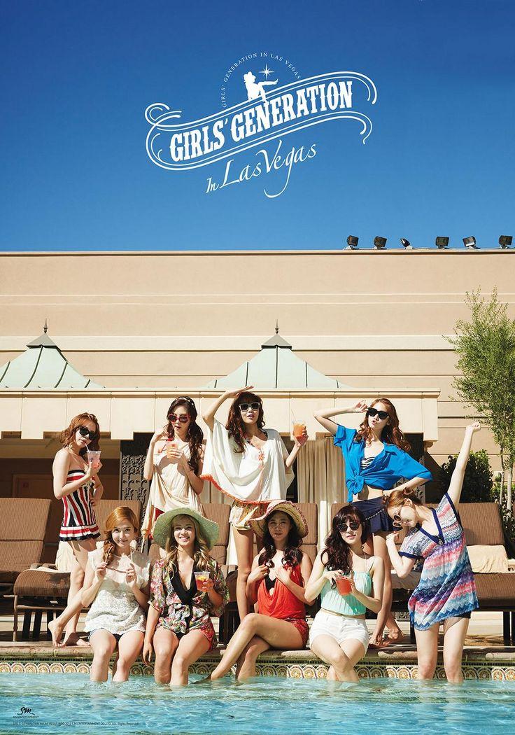 SNSD Girls Generation in Las Vegas photobook 2014