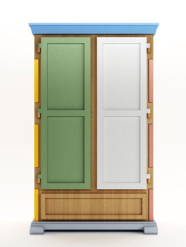 Бумага Лоскутная гардеробе Studio Job для Moooi   Yellowtrace.