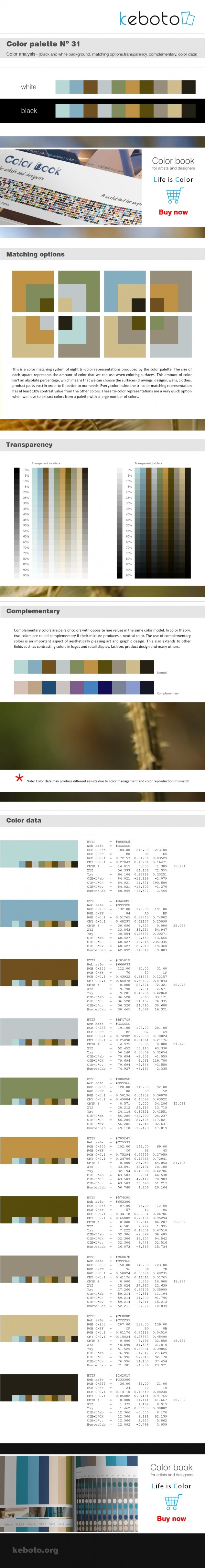 Keboto - Color Palette Νο31