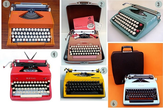 Typewriters - How we wrote our term papers in high school & college.