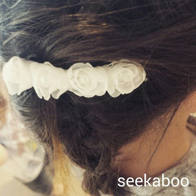 Over the weekend (when I should have been cleaning out the office) I decided to finish off some 'started' projects  I think this hair clip turned out super cute!! I had share it  I'll definitely be...