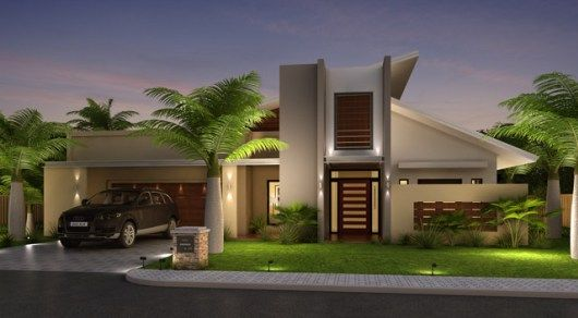 Wood Elevation Design : Top best front elevation designs ideas on pinterest