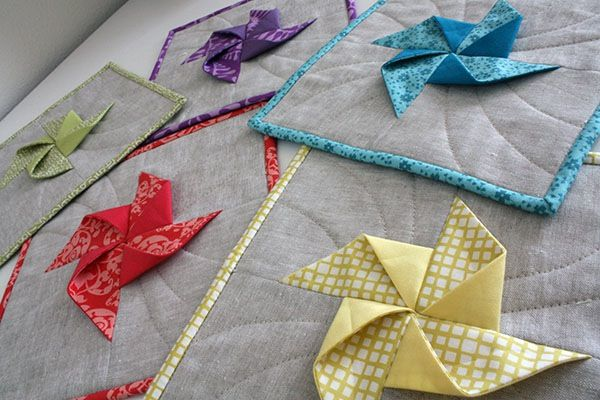 Pinwheels Make For Such Pretty Potholders