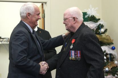Boyles, a 91-year-old Trenton resident who fought in the Second World War, has been awarded the rank of Knight by the National Order of the Legion of Honour.