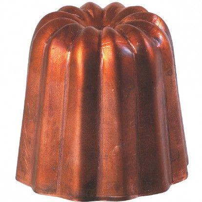 Cannelé cuivre - Diamètre 45 mm