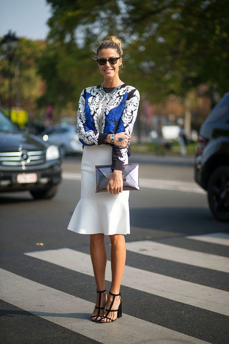 See Want Shop: PFW STREET STYLE