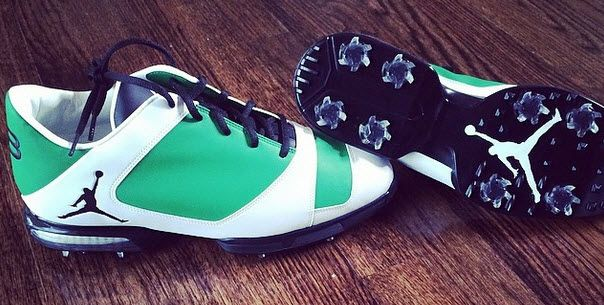 Keegan Bradley's Jordan Golf Shoes for The Masters | NG NATION — Nike Golf Fan Blog