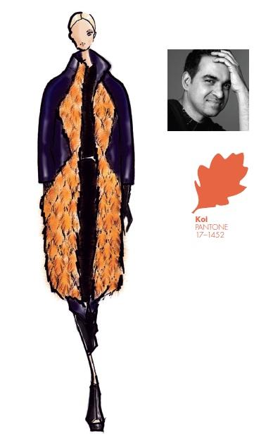 #FCRF13 Designer Inspiration: Bibhu Mohapatra http://pantone.com/Fall2013