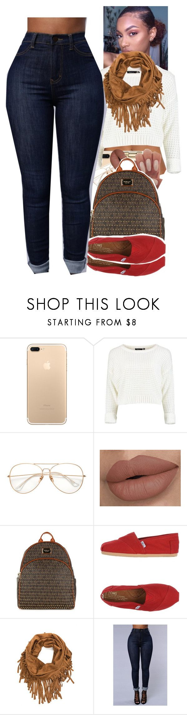 """""""Untitled #1678"""" by txoni ❤ liked on Polyvore featuring Michael Kors, MICHAEL Michael Kors and TOMS"""