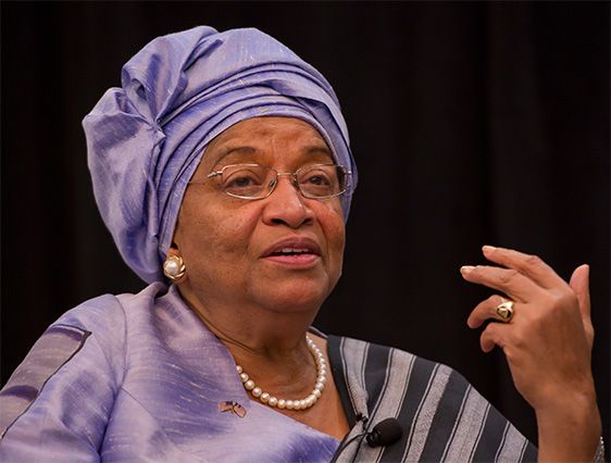 On the blog: in Liberia, the IRC Commission on Domestic Violence meets with President Ellen Johnson Sirleaf to make the case for enacting legislation to criminalize domestic violence, prosecute its perpetrators and protect victims.