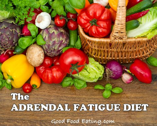 The Adrenal Fatigue Diet - healing adrenal fatigue naturally, and how you can start today.