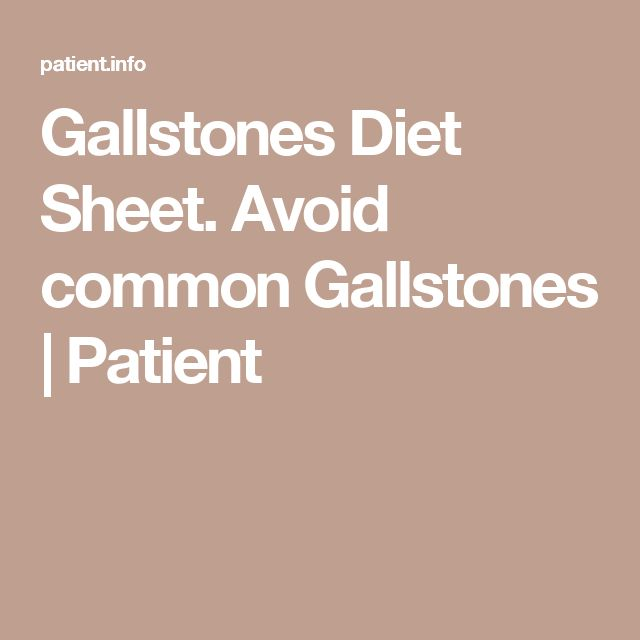 Diet tips for a healthy gallbladder