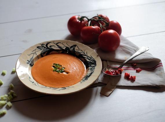 Gazpacho, La cucina di calycanthus_on Corriere cucina photo: Maurizio Maurizi