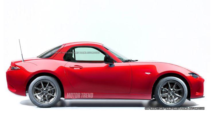 2016 Mazda MX-5 Miata | 2016 Mazda Mx 5 Miata Coupe Rendering Right Side