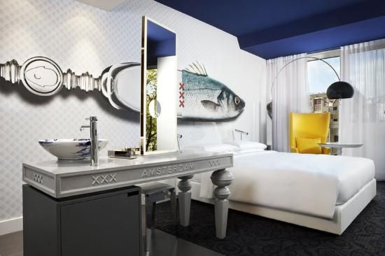 """10 extraordinarily designed hotels :::   2. Andaz Amsterdam Prinsengracht  Amsterdam, The Netherlands ::: """"The library concept is extremely unique and the interior design is worth a few gold stars."""""""