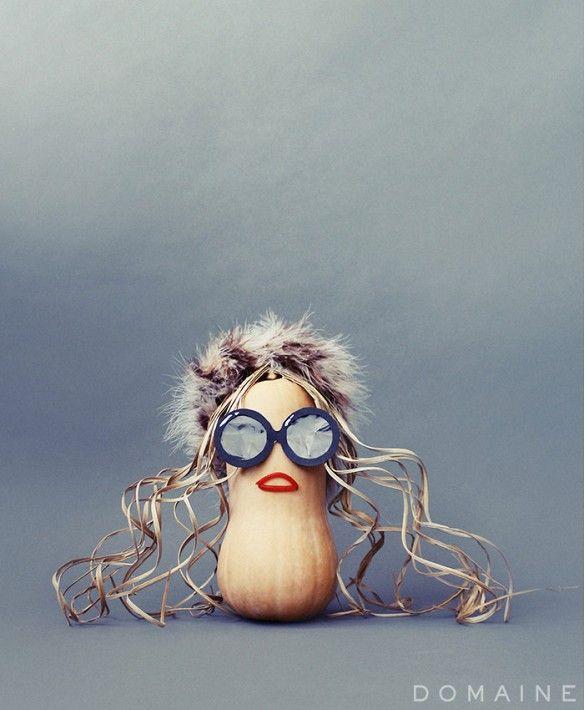 DIY Rachel Zoe pumpkin (via @domainehome)