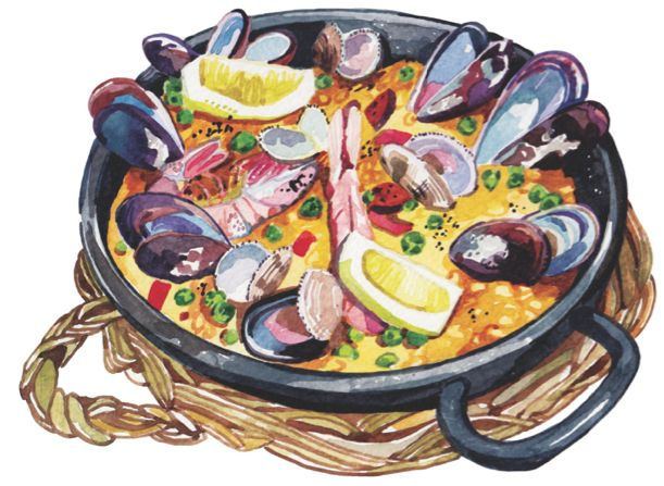 World Food Illustrations for Voyeur Magazine on Behance