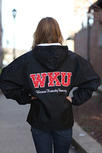 Western Kentucky University Stitched Letter by DesignsbyBurnaleeja, $49.95