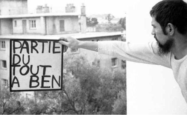 Tout signer, Ben Vautier, 1961