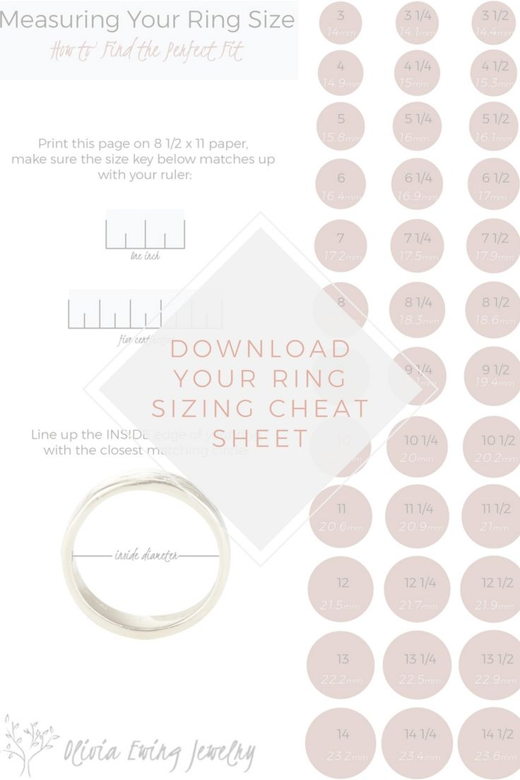 Best 25 ring size guide ideas on pinterest ring sizes measure 5 tips to nailing her ring size nvjuhfo Choice Image