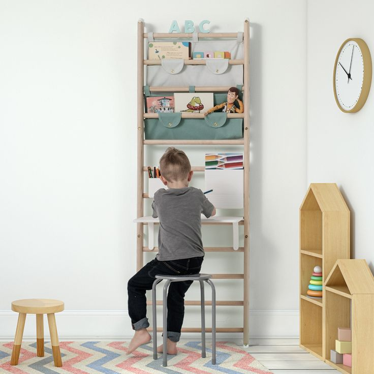 This Flexible Wall Bars System by Norway-Based KAOS is Modern Parent-