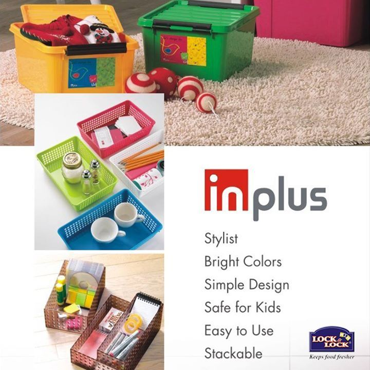 Lock & Lock Inplus - a premium #storage solution which makes efficient use of space for #healthy and better living!!