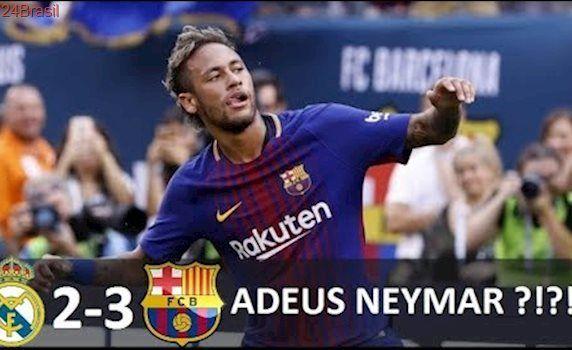 Neymar vs Real Madrid (29/07/2017) DESPEDIDA DE NEYMAR CONTRA O REAL MADRID ?