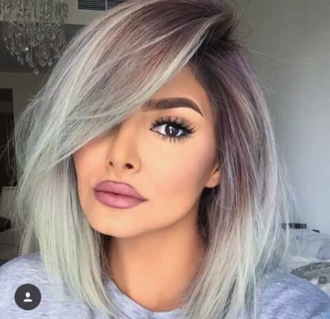Best 25+ Short silver hair ideas on Pinterest   Grey bob, Grey ...