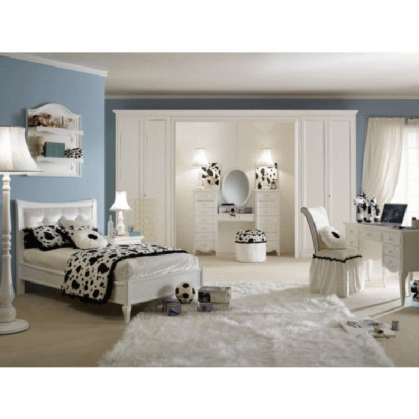 Room Design Ideas for Teenage Girls ❤ liked on Polyvore
