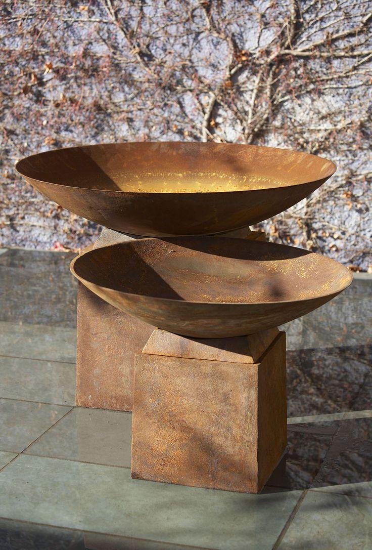 Lovely corten bowls