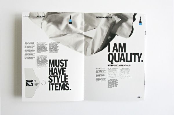 WE Fashion - Brand Identity by Denis Bégin, via Behance