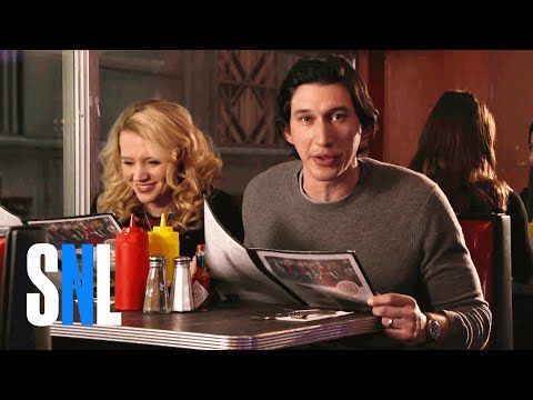 STAR WARS: TFA's Adam Driver Channels His Inner Emo 'Kylo Ren' For Fun SNL Promos