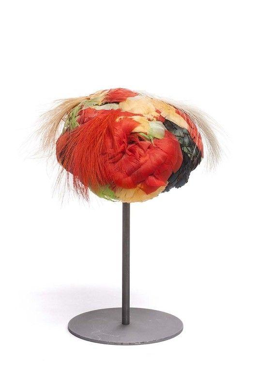 1925 Hat by  Caroline Reboux