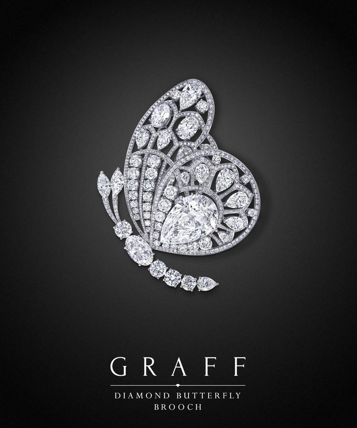 Graff Diamonds: Diamond Butterfly Brooch