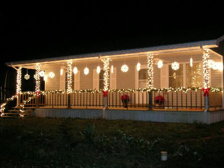20 best deck the deck images on pinterest christmas crafts decorate the outside deck for christmas the front of the house all decked out in mozeypictures Gallery
