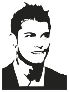 stickers cristiano ronaldo - Stickers Personnages