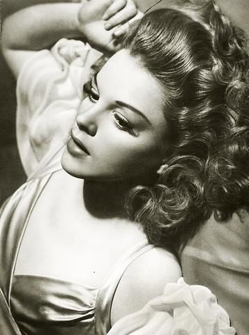 Judy Garland by George Hurrell... love love love the style/fashion/everything from this time period