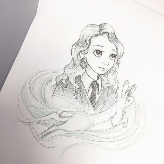 Luna Lovegood by lulu.♥