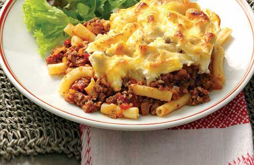 Greek ground beef and pasta recipes