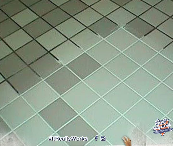 Bring It On Cleaner With Oxygen Bleach For Stained Grout