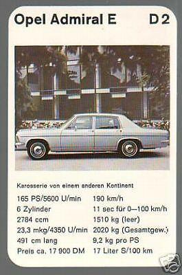 Opel Admiral 2800 E